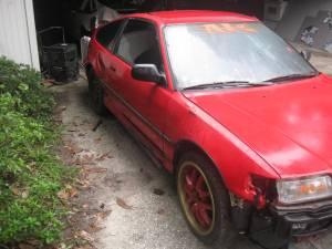 1991 CRX si